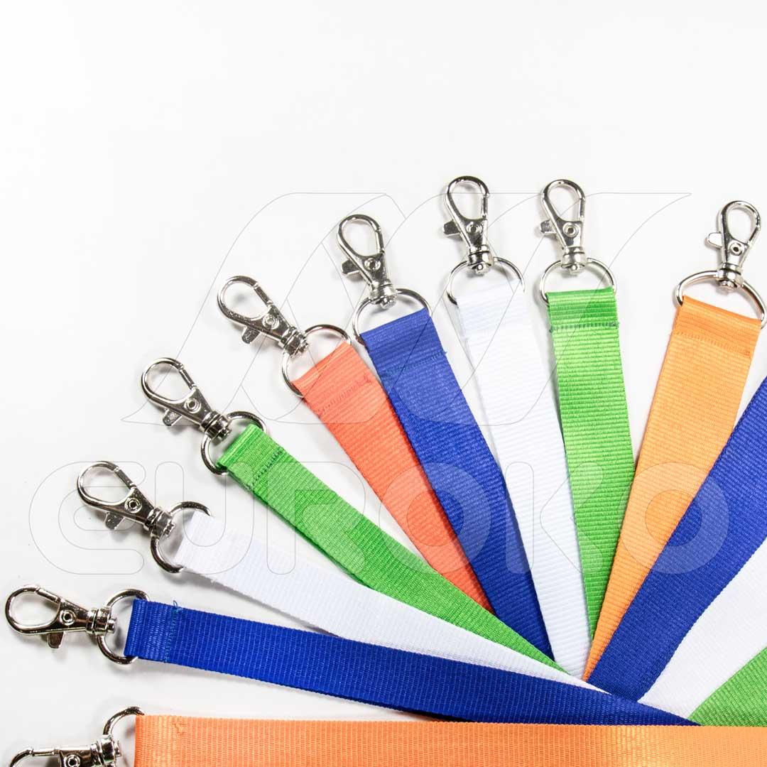Einfarbiges Schlüsselband