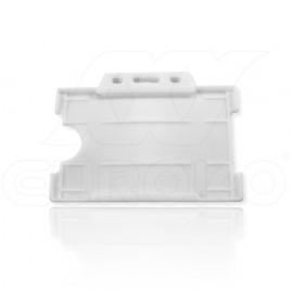 Weiß Offen Ausweishülle 9x6