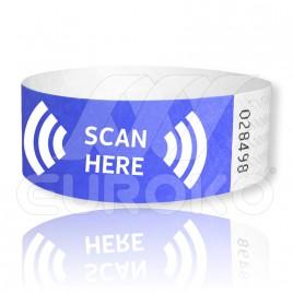 "1"" TYVEK RFID Wristbands (25mm)"