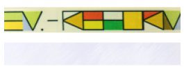Einseitig bedruckt (4+0)
